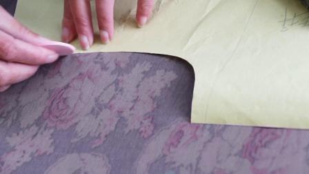 7、旗袍排料及裁剪