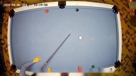 美式台球练习球形2