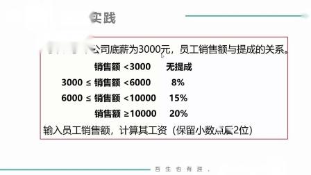 (MOOC网 孙海洋 C语言)第3讲(第6周)编程实践(一)计算工资.mp4