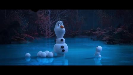 《冰雪奇缘》最新呆萌番外《雪宝和雪球》