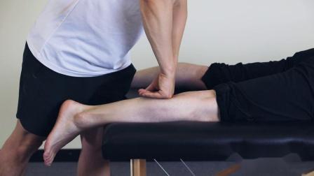 桃子老师演示腓肠肌筋膜手法2
