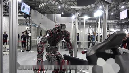 iREX2019 川崎人形机器人Kaleido健身