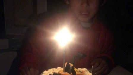 202003六周岁生日吹蜡烛