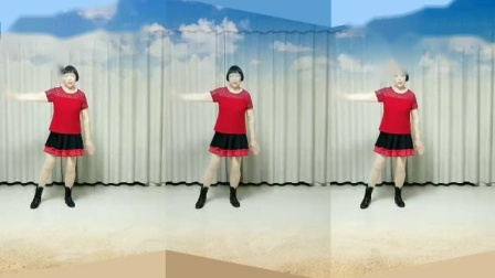 莲芳姐广场舞《想起妈妈泪如雨》原创零基础入门舞蹈32步