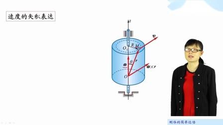 [13.5.1]--13.5以矢量表示角速度和角加速度(视频)