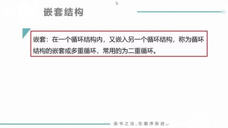 (MOOC网 孙海洋 C语言)第1讲(第7周)循环嵌套.mp4