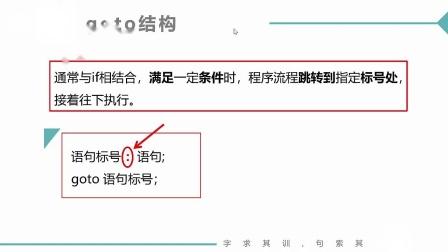 (MOOC网 孙海洋 C语言)第2讲(第7周)流程跳转--goto.mp4