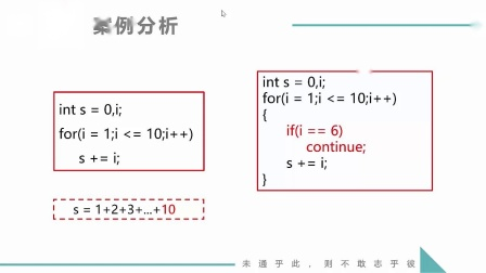 (MOOC网 孙海洋 C语言)第4讲(第7周)流程跳转--continue.mp4