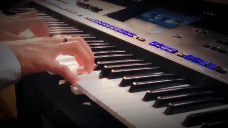 有江湖味的一首古风歌,《下山》钢琴演奏版!