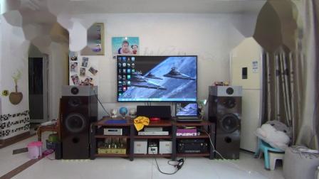 DIY音箱试音(3分频)惠威D10.8 D6.8B 老董铍铜膜 300B单端