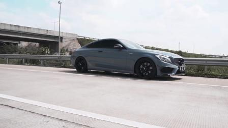 Mercedes-AMG C43 Coupe 装备ARMYTRIX 智能阀门排气套件