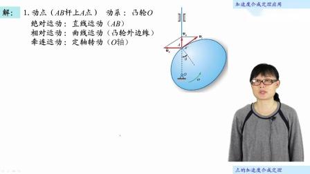 [15.3.1]--15.3加速度合成定理应用(视频)