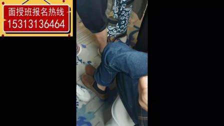 周志军老师8月昆明班上课间帮学员智力有问题的儿子调理身体