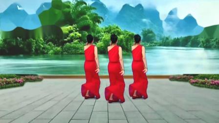 舞韵含香广场舞(傣族舞蹈)《看了你一眼》 编舞:君君