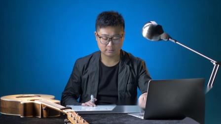 《吉他乐理100讲》NO.99自然调式中各级自然三和弦的推算  高音教