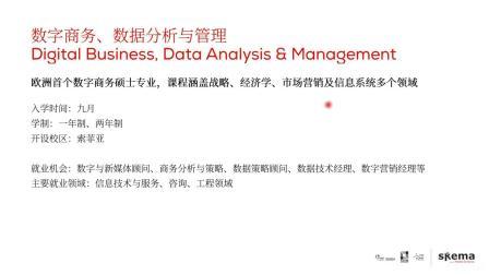 紧跟就业趋势—SKEMA市场商业类4大专业太相似,傻傻分不清楚?
