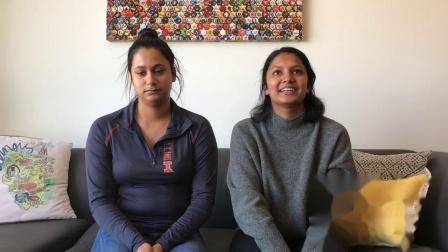 Friendship at Illinois: Surabhi & Siddhi