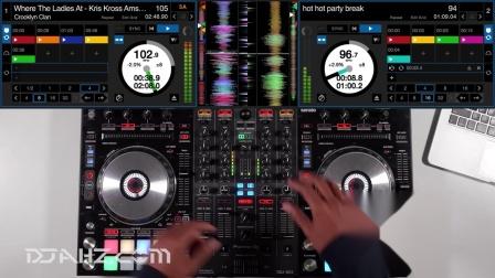 先锋Pioneer DDJ SX3  - Party Starters混音手法演示