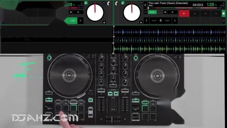 罗兰Roland DJ 202 - Tribal Tech House混音手法演示