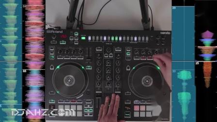 罗兰Roland DJ 505 - 鼓机4轨混音手法演示