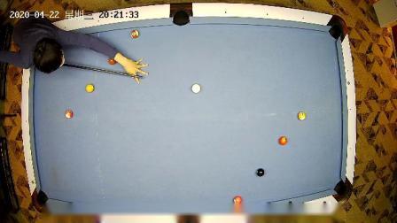 美式台球练习球形4