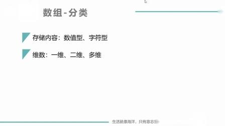 (MOOC网 孙海洋 C语言)第1讲(第8周)一维数组的定义和引用.mp4