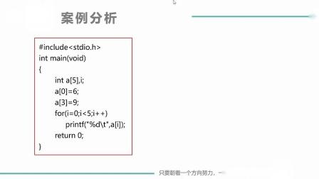 (MOOC网 孙海洋 C语言)第2讲(第8周)一维数组的赋值.mp4