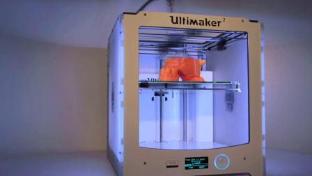 【Ultimaker盘点赏析】用橘色调PLA 3D打印的吉祥物更生动了