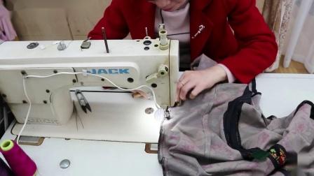 15摆缝、摆叉+袖底缝拼合
