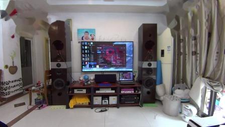 DIY音箱分频数据(3分频)及试音 惠威D10.8 D6.8b 老董铍铜膜高音.MP4