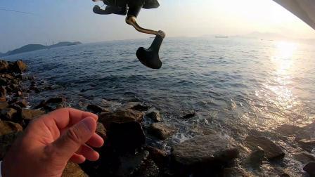矶钓日志 | 初试港岛西区,一个有难度的钓点,经历了成功与失败