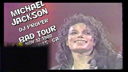Michael Jackson - BAD tour live in Los Angeles 1988.11.13.mp4