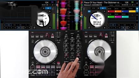 先锋Pioneer DDJ SB3 -  EDM混音手法演示