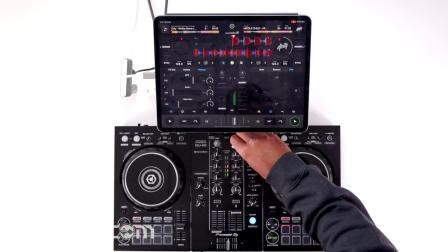 先锋Pioneer DDJ 400 - iPad Djay混音手法演示
