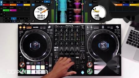 先锋Pioneer DDJ 1000srt - HOUSE创意混音手法演示