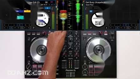 先锋Pioneer DDJ SB3 -  混音手法演示