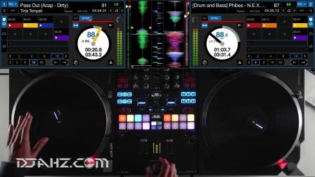 先锋Pioneer DJM S9  Phase DJ  - Hip Hop混音手法演示