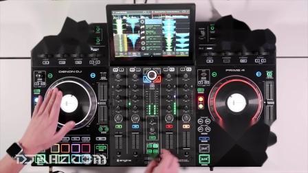 天龙Denon DJ Prime 4 - EDM  House混音手法演示
