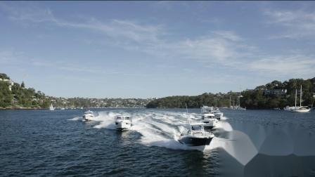 5艘亚诺动力艇驰骋悉尼!