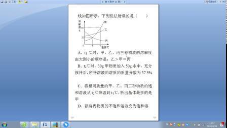 诚优教育中考化学模拟试卷(八)