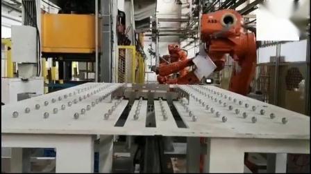 压力机冲压连线自动化项目 苏州超群供货海尔集团 机器人自动化