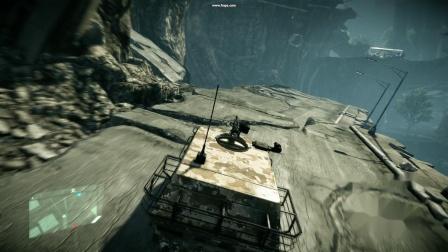 Crysis2 开车飞跃断崖