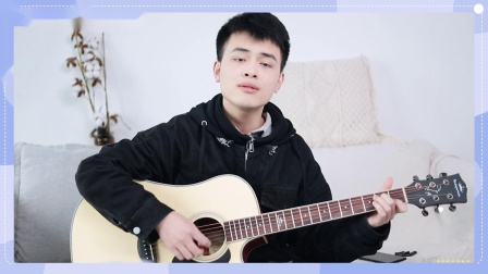 看不见你的笑我怎么睡得着~周杰伦《彩虹》吉他弹唱教学