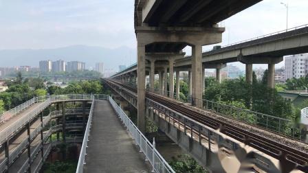 (广茂线火车视频)DF11G 0189 0147牵引重开的K9049次通过肇庆西江大桥(广州-信宜)