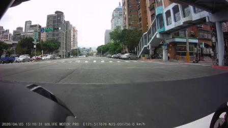 papago motor pro 夜視雙鏡頭機車行車紀錄器-前鏡頭-白天(多雲、陰天)
