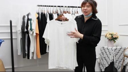 阿荣服饰497期-新款T恤跑量-600元/43件均配