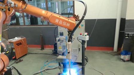 生物质颗粒炉焊接工作站