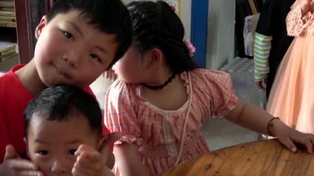 程钰晴 六岁剪发