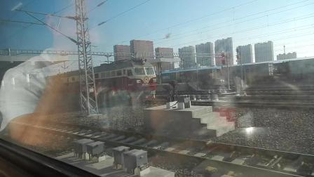 2017哈尔滨至北安拍车1 哈局视频6