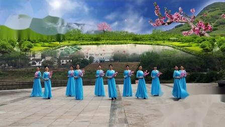 时装舞蹈(你像三月桃花开).适合零基础,适合演出,一个非常好看的旗袍舞蹈